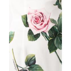 Dolce & Gabbana Rock mit Print - Weiß Dolce & Gabbana #mittellangeröcke