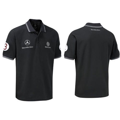 Mercedes Benz Long Sleeve T-Shirt MENS Polo Embroidered logo Auto Gift Shirt