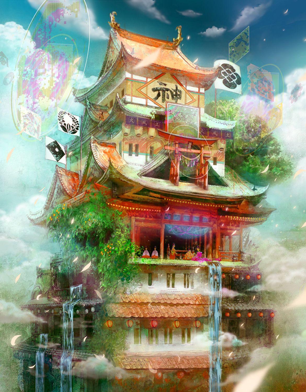 The Art Of Animation, みなみうみ Animation art, Anime scenery