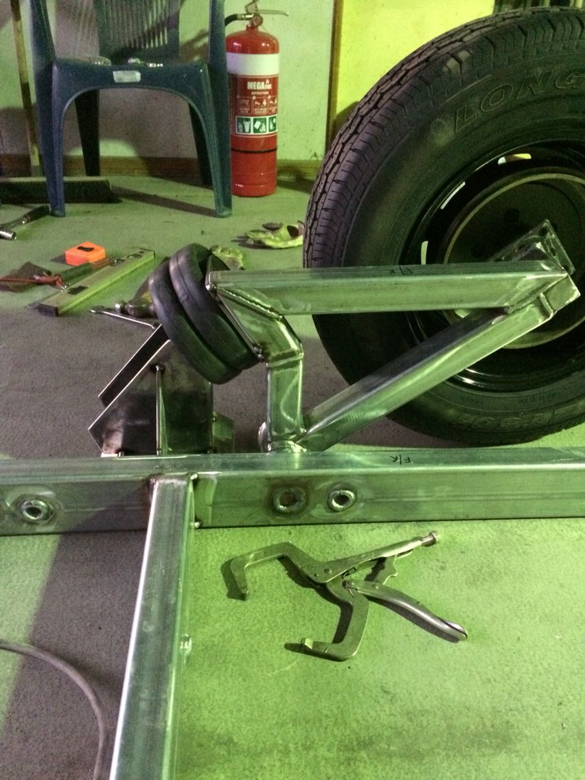 Pin By Ty Tines On Bags Trailer Suspension Car Trailer Welding Trailer