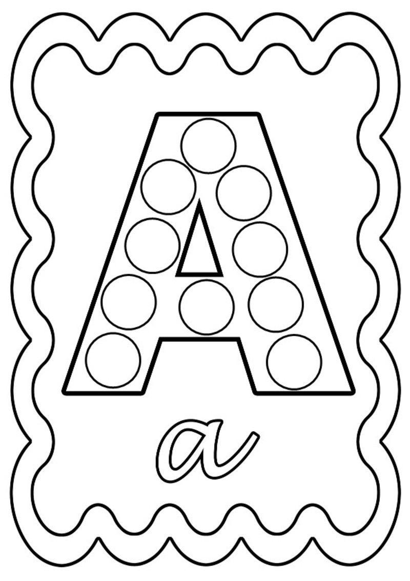 coloriage alphabet lettre de a a z  Coloriage alphabet, Coloriage