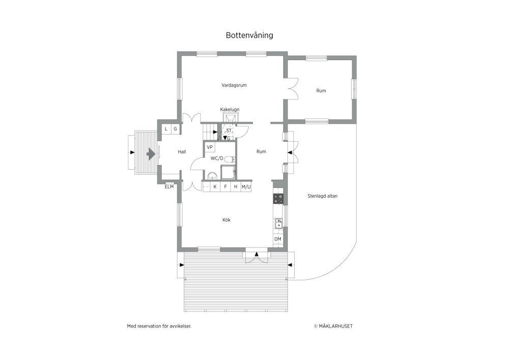 Villa till salu på Pauli Väg 6 i Åkersberga - Mäklarhuset ...
