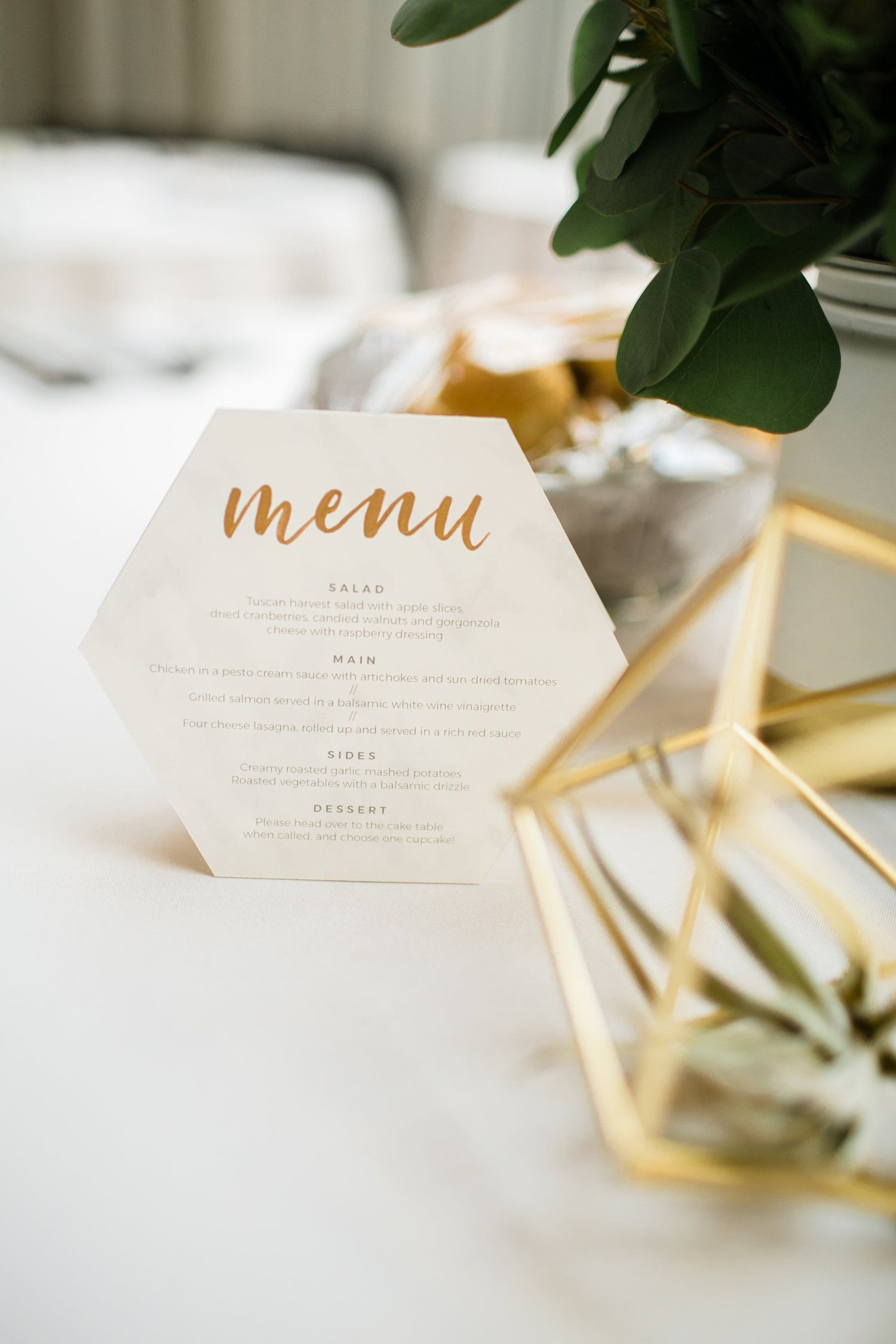 menu design and calligraphy by grace niu, photo by mayden