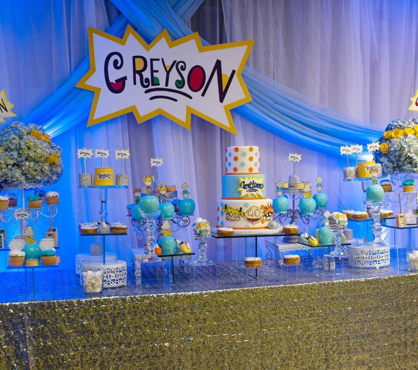 Pin von Felicia\'s Event Design and Planning auf Rugrats Theme Party ...