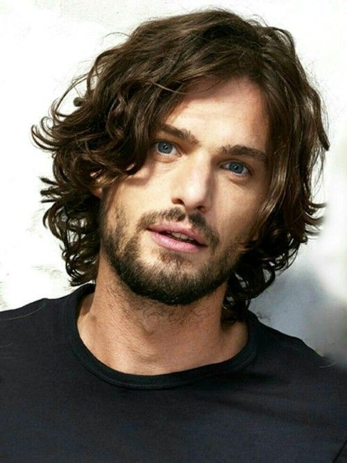 54 Striking Medium Length Hairstyles For Men Frisuren Einfache