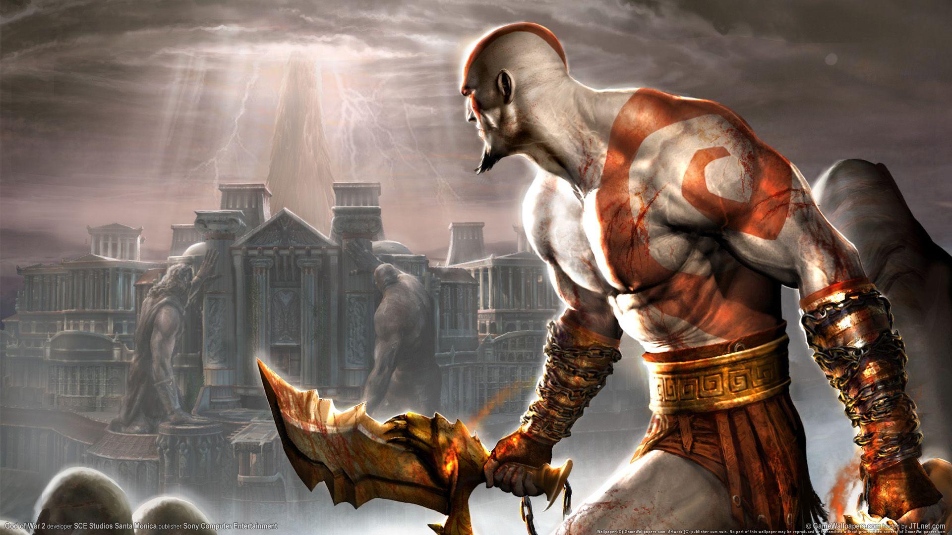 God Of War 2 Ps2 Game Hd Art History Meno Istorija Istoriya