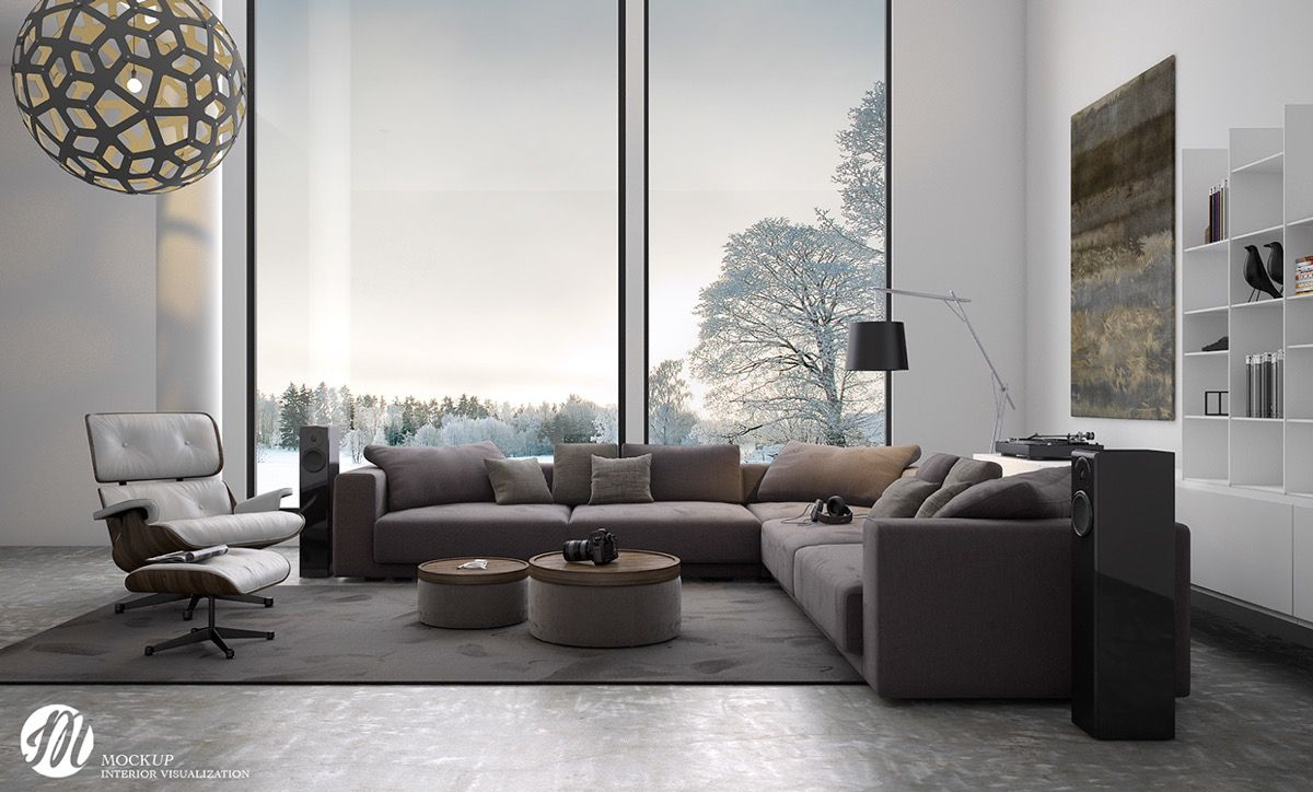 Lovely Living Rooms for a Design Loving Life | Late evening, Living ...