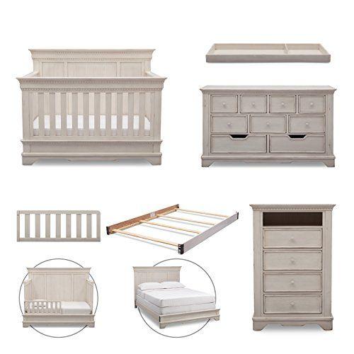 Simmons Kids Tivoli 6-Piece Nursery Furniture Set (Conver...   Baby ...