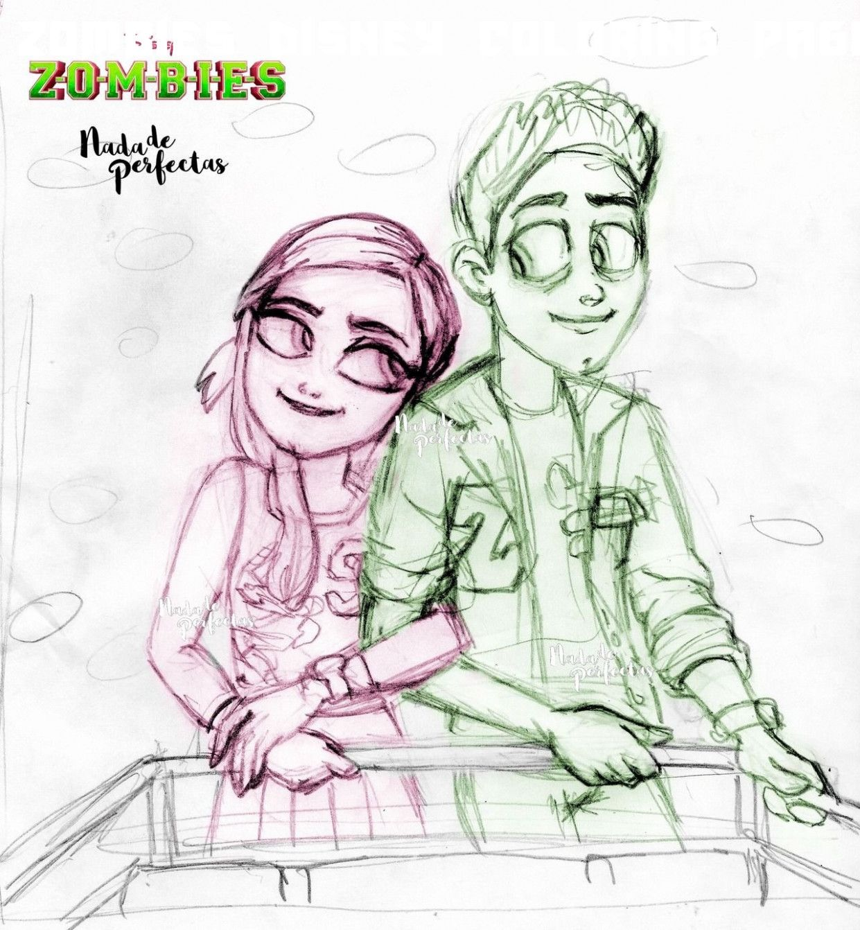 9 Zombies Disney Coloring Pages Zombie Disney Coloring Pages Disney Coloring Pages