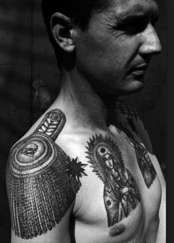 Sicilian Mafia Tattoo Symbol Of A Life Of Crime Tattoos Pinterest