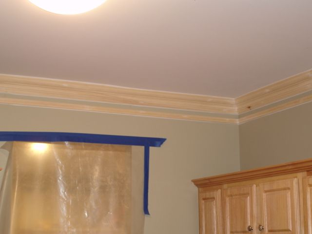 Super Thick Crown Molding Trick. Installed a basic crown molding ...