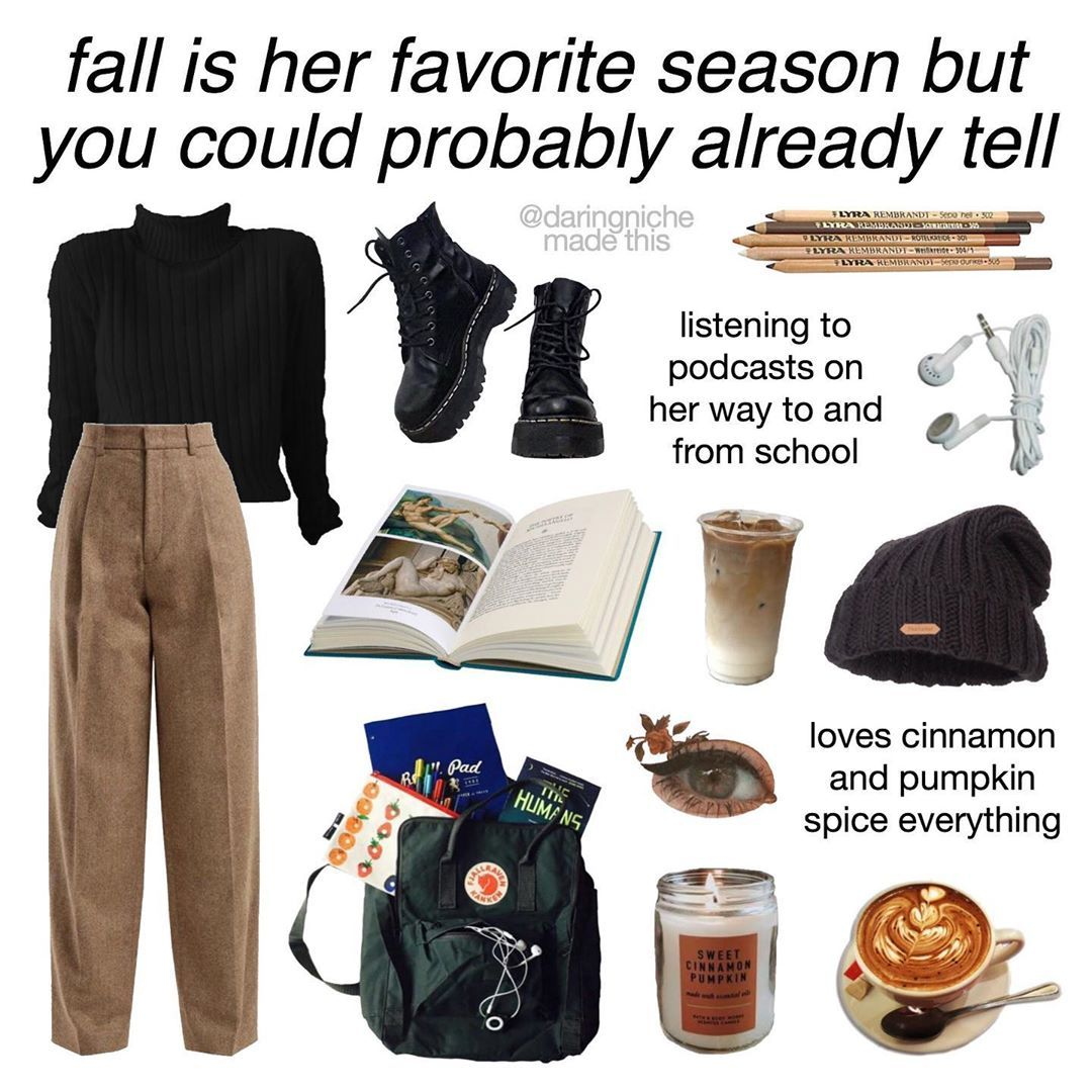 I Love Fall Today Is My 2 Year Anniversary On This Account Cannot Believe I Ve Had This Account For So Mood Clothes Aesthetic Clothes Aesthetic Fashion