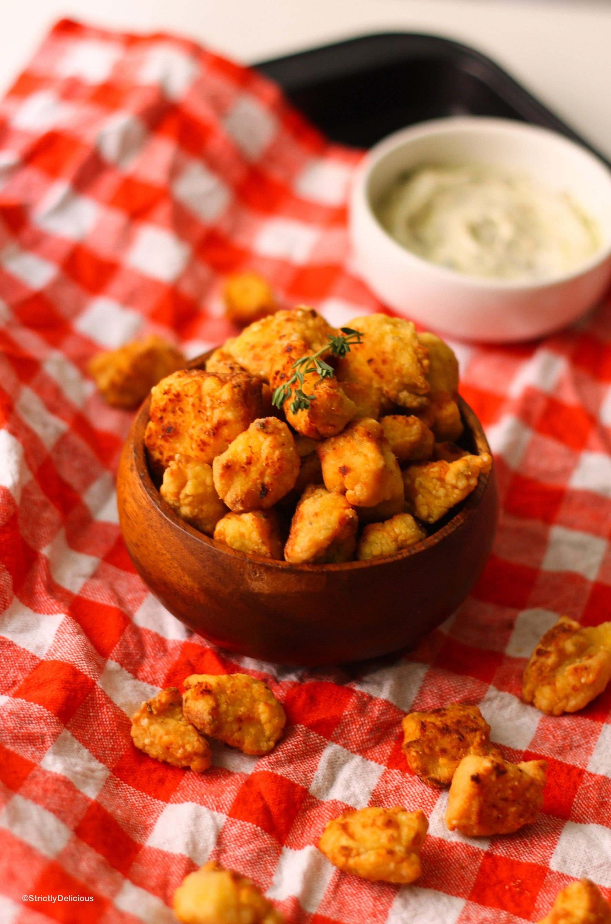 """AIP """"Buttermilk"""" Popcorn Chicken 