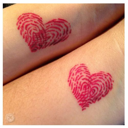 shaneacuff best friends fingerprint tattoos tat ideas pinterest. Black Bedroom Furniture Sets. Home Design Ideas