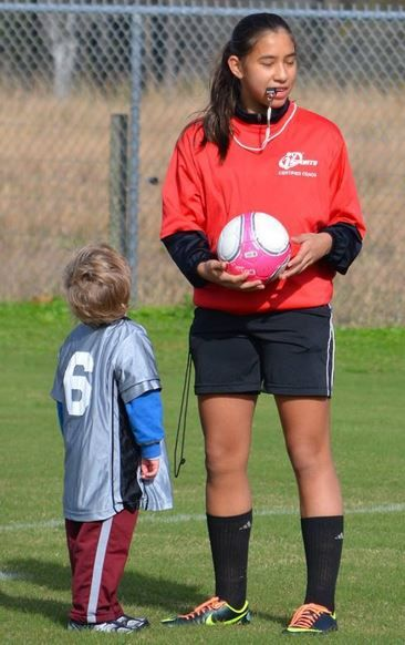 I9sports We Look Up To Our Coaches And Officials Sports Youth Soccer Youth Sports