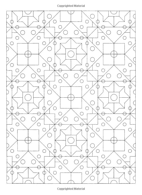 Dover Publications on Amazon / Creative Haven Geometric
