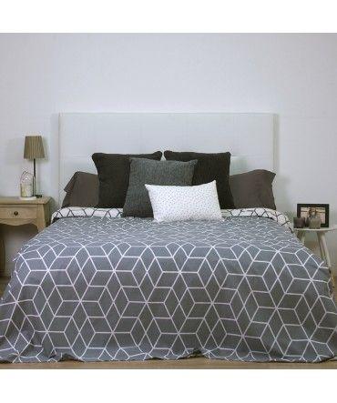 10 ideas para disfrutar de tu hogar en invierno #hogar #decoración #home #deco #invierno #frío #funda #nórdica #geométricos  www.hogardiez.com.es