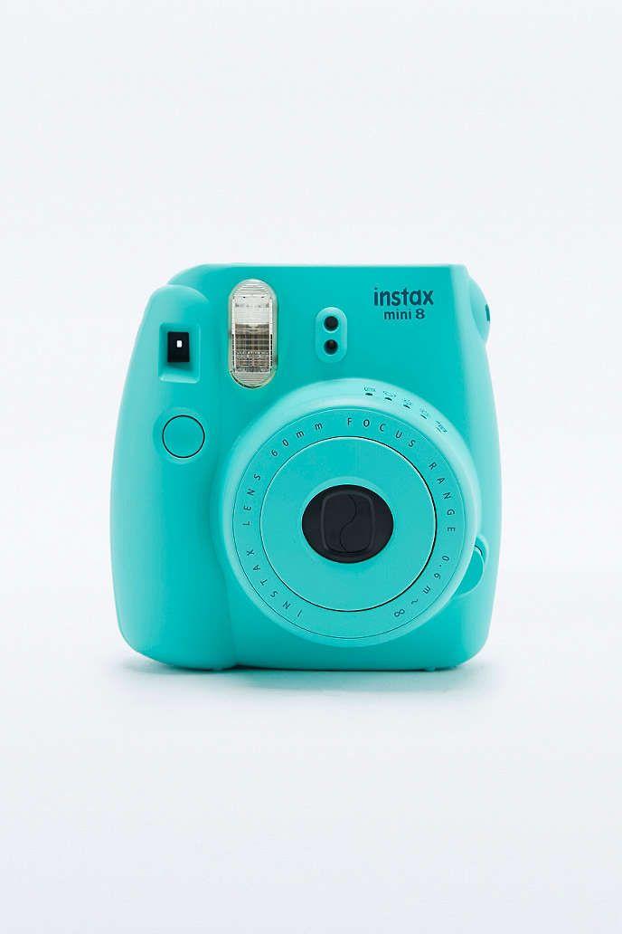 fujifilm appareil photo instax mini 8 cyan urban outfitters polaroid camera instax mini
