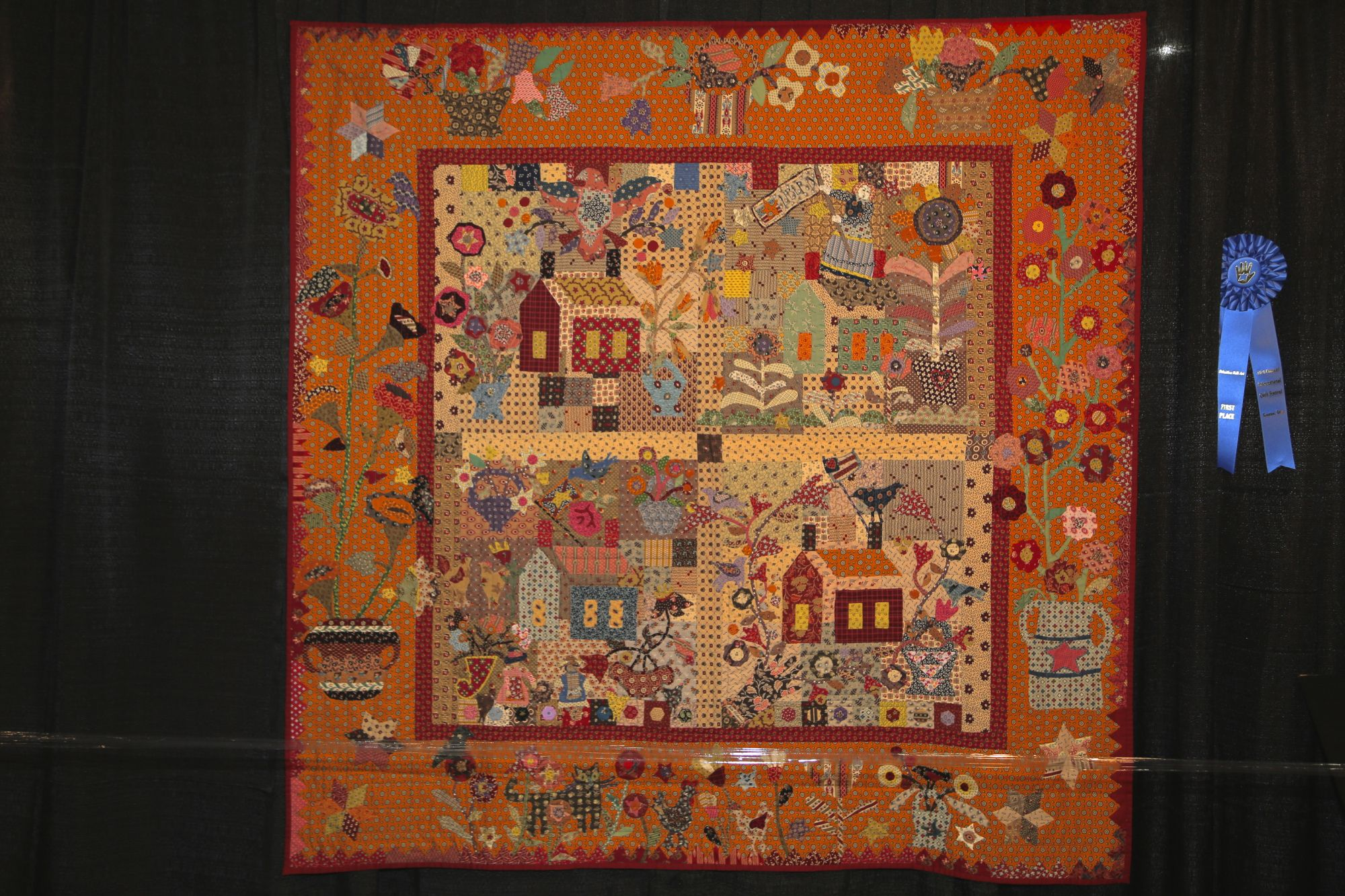 Thats It Folks No More Time Quilts From The International Quilt