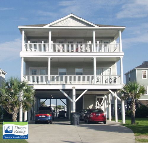 Pin On Beach Homes With Elevators