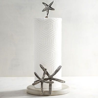 Coastal Paper Towel Holder Impressive Need A Hand In The Kitchen Upgrade Your Countertop With The Coastal
