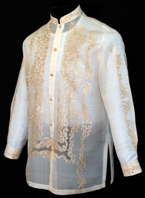 Raya barong tagalog 4015 barong tagalog tagalog and for Barong tagalog wedding dress