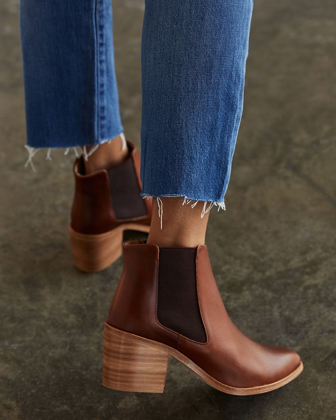 Heeled Chelsea Boot Brandy Chelsea Boots Style Boots Girls Shoes