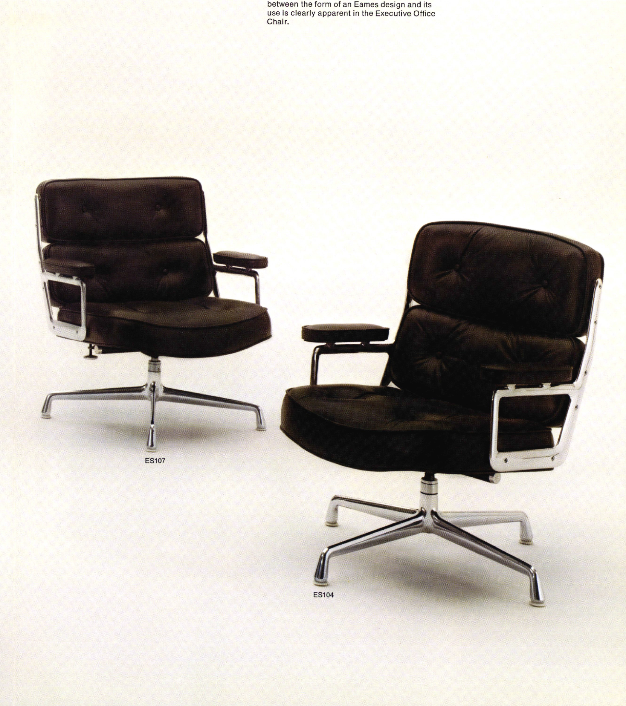 Eames Executive Chair: timeless, classic, modern, long ...