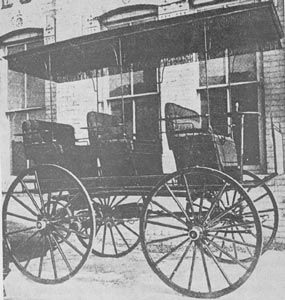 The Morrison Electric Car First Successful Was Built In Des Moines 1888