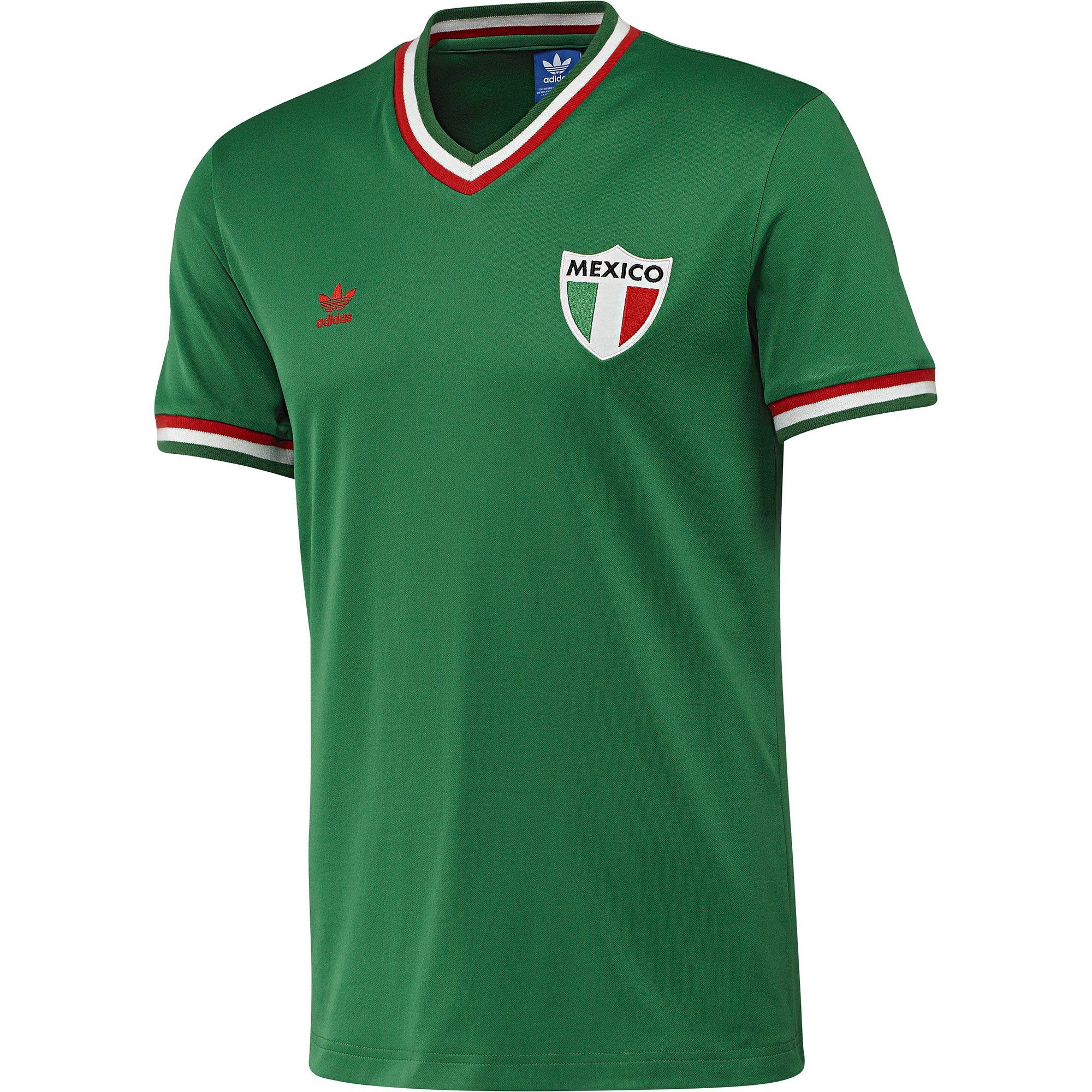 8b77b89fa4dc1 adidas Camiseta de Fútbol Retro México