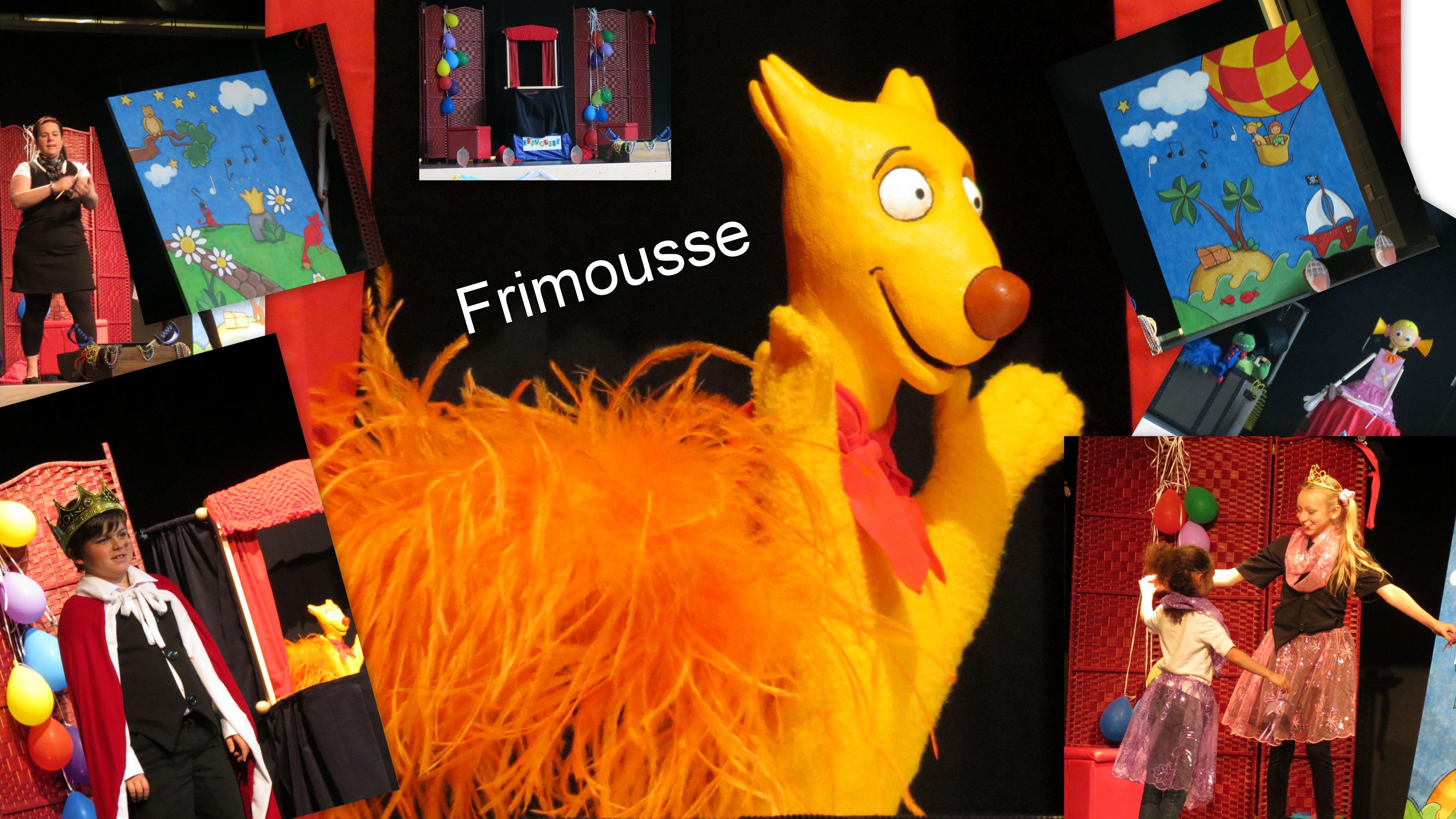 Spectacle de Frimousse dans les Maritimes avec Isabelle Perron Desjardins.