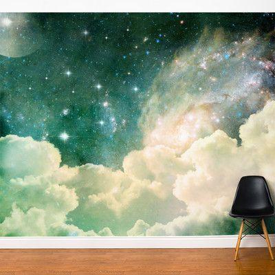 Ebern Designs Nordham Fairy Wall Mural Wayfair Wall Murals Dream Symbols Mural