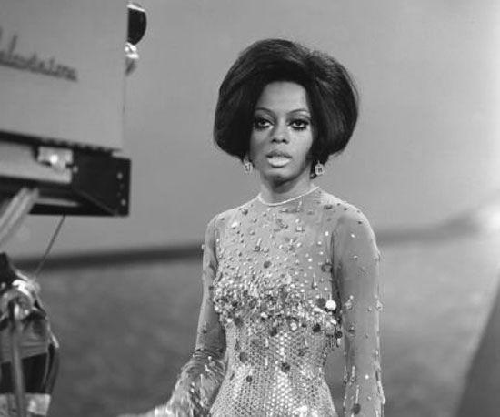 Diana Ross 1969, wig by Vidal Sassoon, via Flickr.
