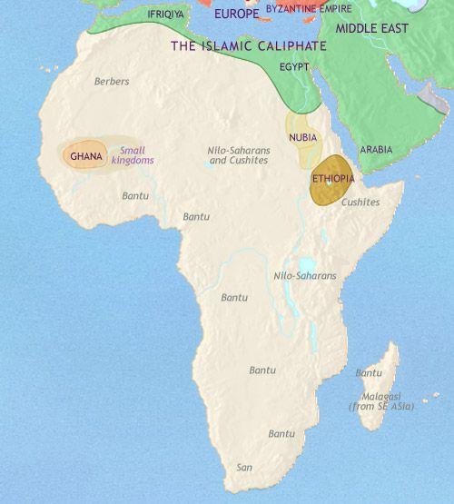 Africa 500ad 750ad bantu maps pinterest africa and history history map and timeline of africa 500 bc showing foreign powers beginning to influence egypt nubia gaining strength farmers spreading and nok culture gumiabroncs Gallery