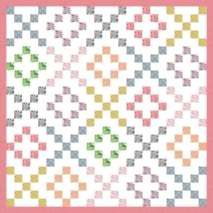 Jelly Roll Quilt Hugs And Kisses I Would Do A Double Quilt Top