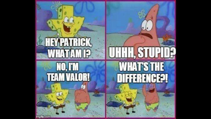 Pokemon GO Valor vs Mystic vs Instinct Memes to Fuel Your Rivalry