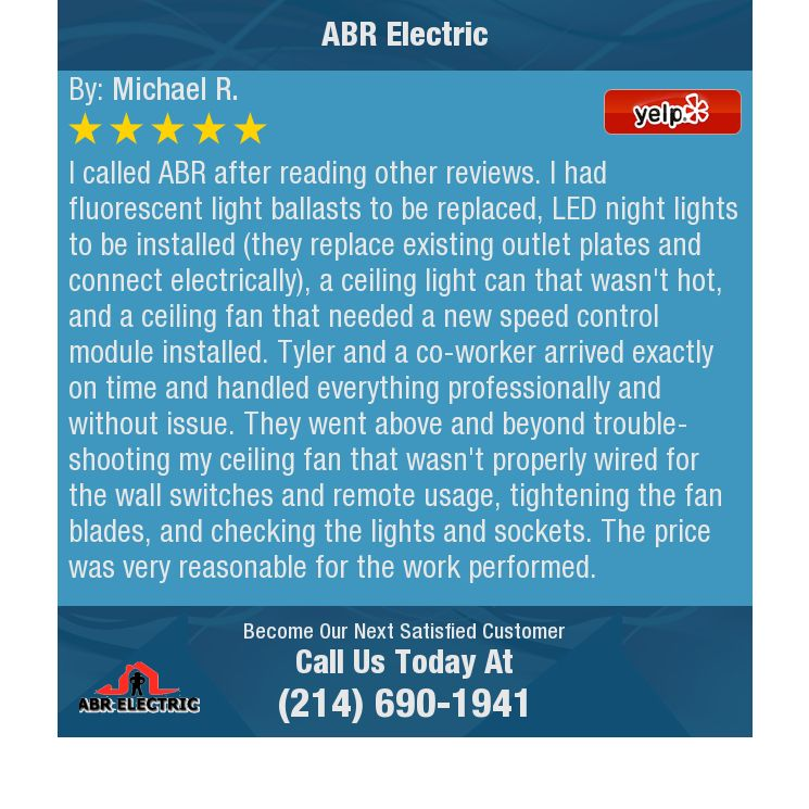 I called ABR after reading other reviews. I had