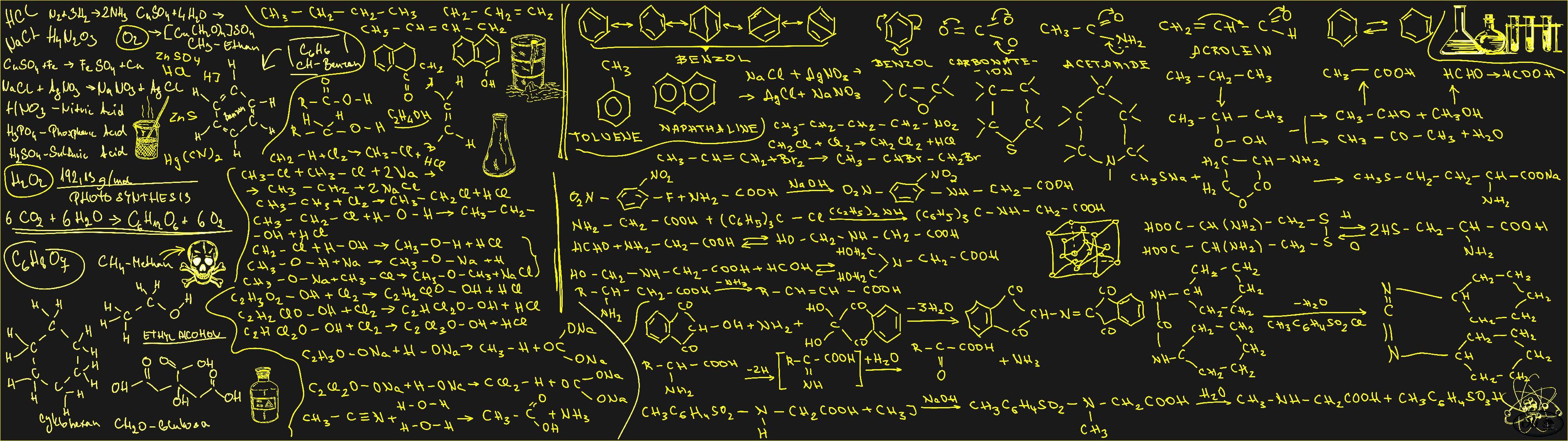 Organic Chemistry By Cutty Sark On Deviantart