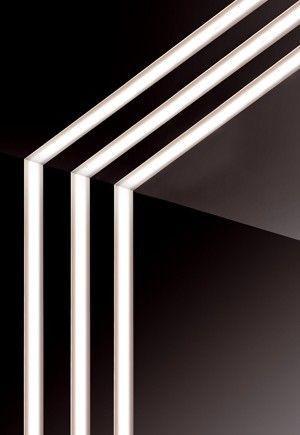 Lucretia Rl16a Solo Beam Recessed Led Strip Lighting 35mm