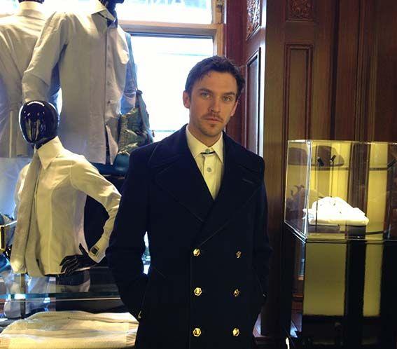 Dan Stevens via Angelo Galasso official blog   Downton Abbey