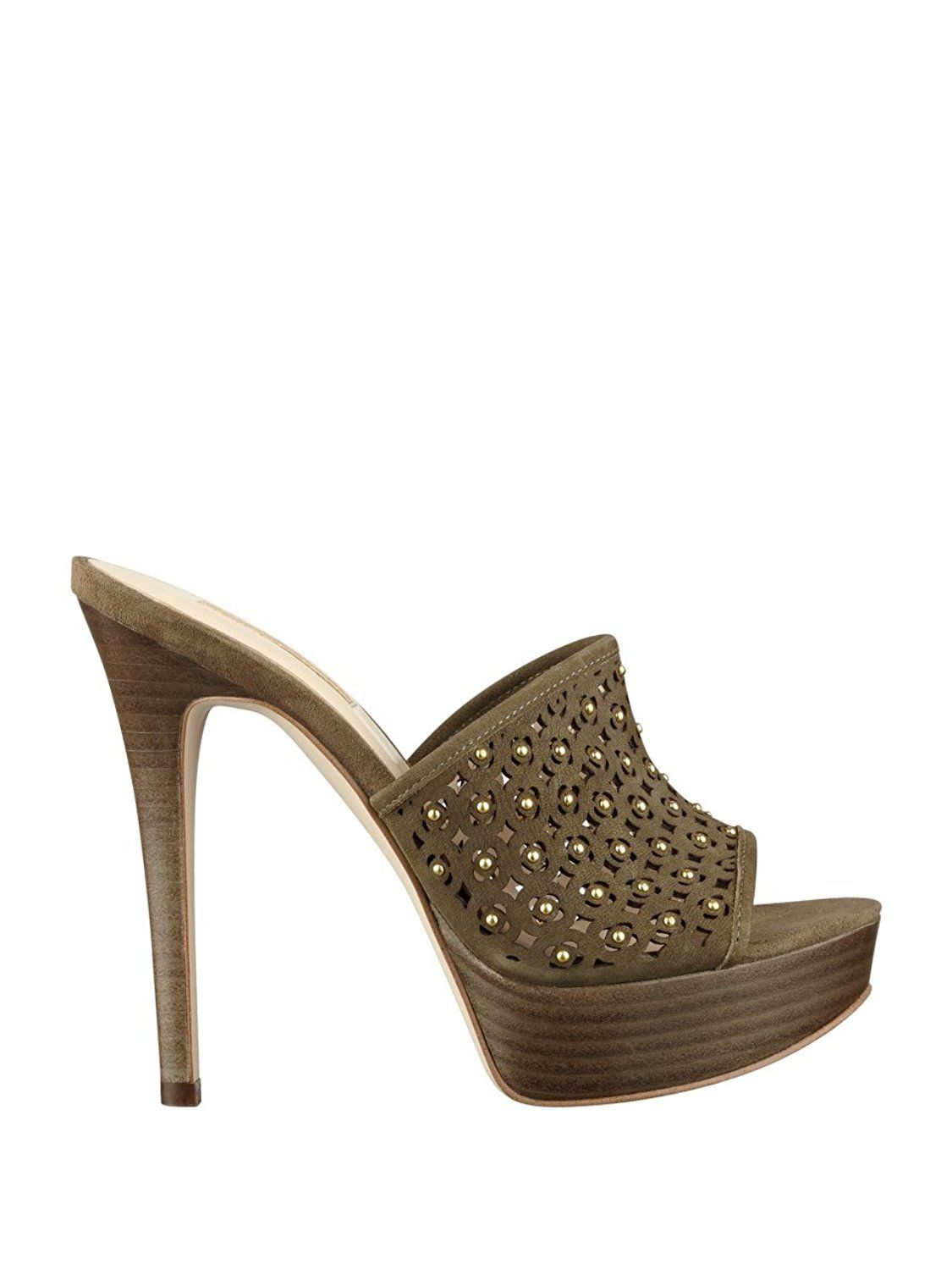 GUESS Kamari Studded Heels -- Learn more by visiting the image link.