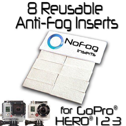 GoPro Anti-fog Inserts for HERO2 Cameras