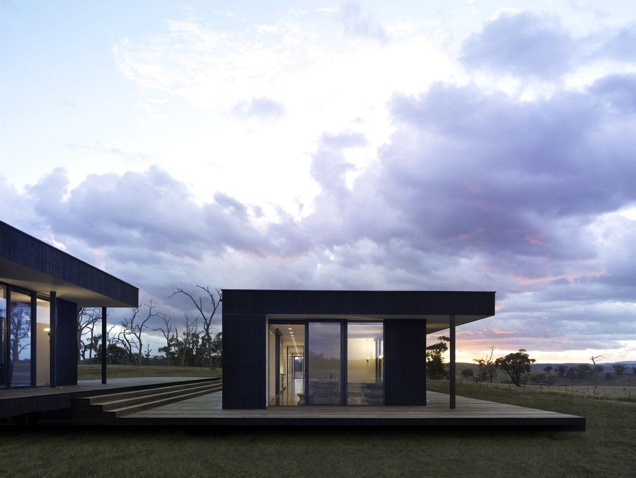 Gallery Of Kilmore House Intermode Pty Ltd 2 Country House Design Modern Prefab Homes Prefabricated Houses