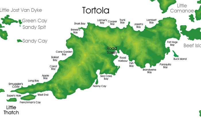 Tortola Map My Travels So Far Places Vacation Map