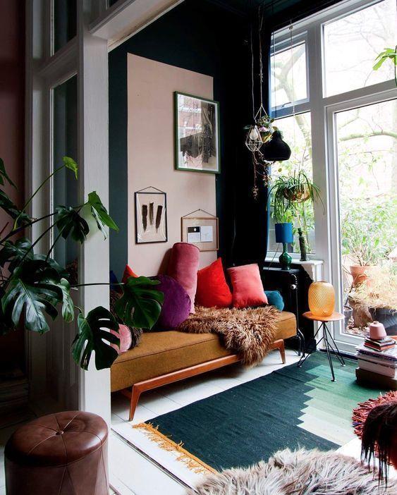 No dejes que un piso peque o limite tu estilo qu pasa for Decoracion de casas brasilenas