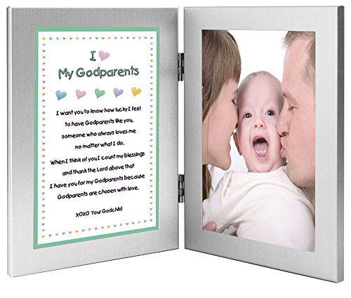 Gift for Godparents Sweet Godchild Poem from Godson or Goddaughter ...
