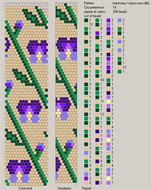 Free Pattern For Beaded Crochet Rope Iris Bead Crochet Beads And