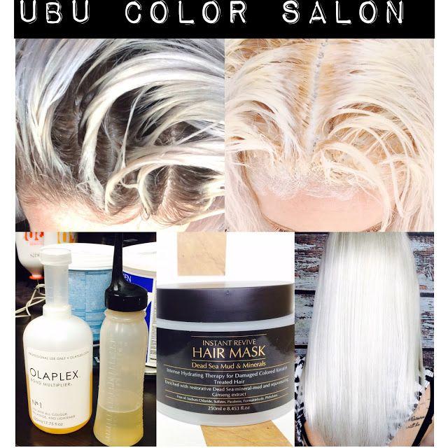 Platinum Blonde Hair Using Olaplex Platinum Blonde Platinum