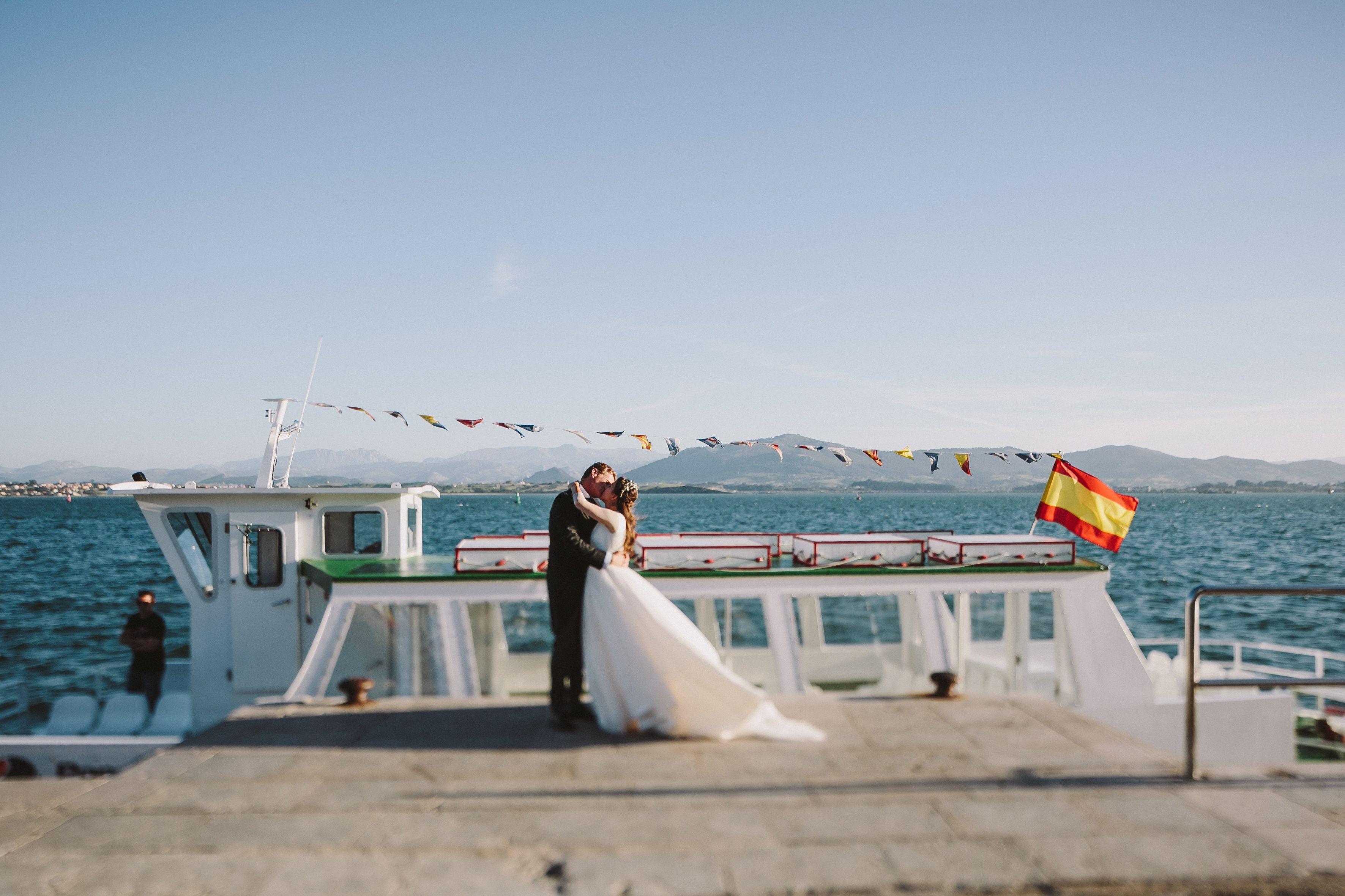 Boda Marinera en Santander, Nautical Wedding in Santander, Bahía de ...