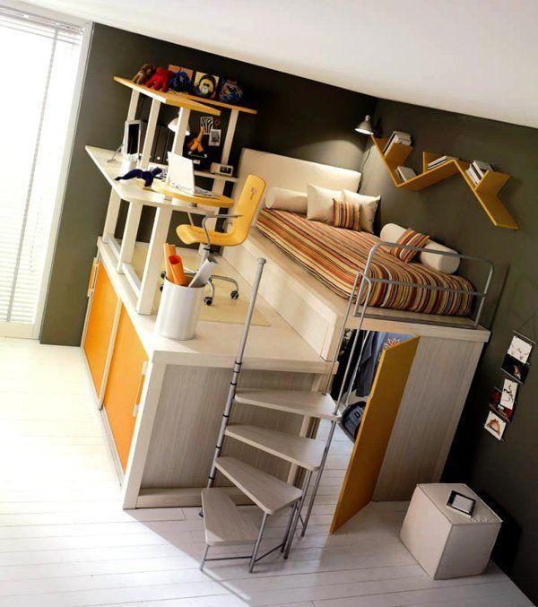 60 id es pour un am nagement petit espace amenagement petit espace espaces minuscules et. Black Bedroom Furniture Sets. Home Design Ideas